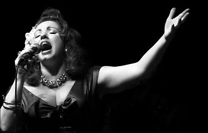 LAURA B 1 HER BAND - FIBRES de Paris, Festival Jazz Swing