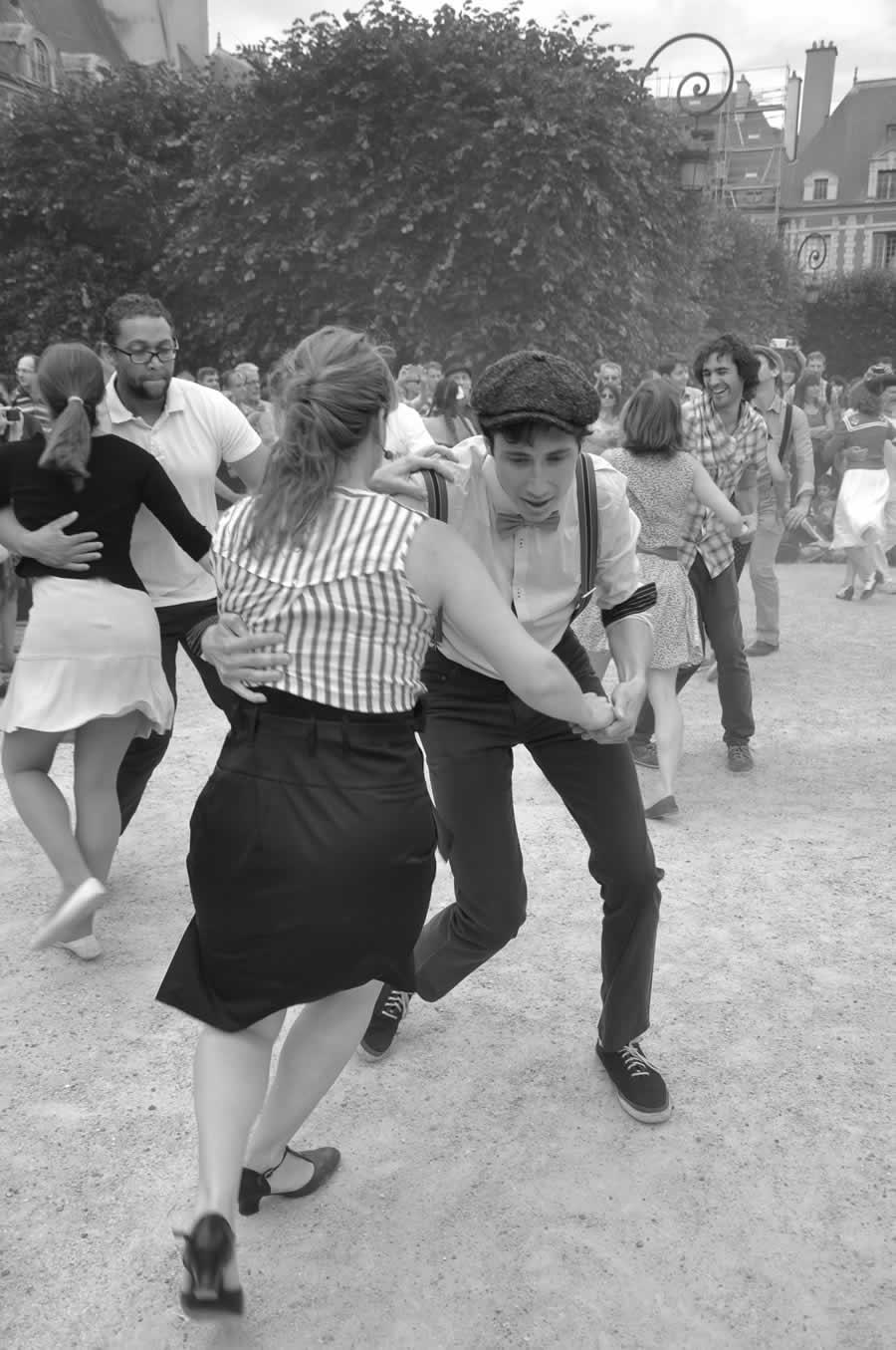 Danseurs swing, FIBRES de Paris Festival Jazz