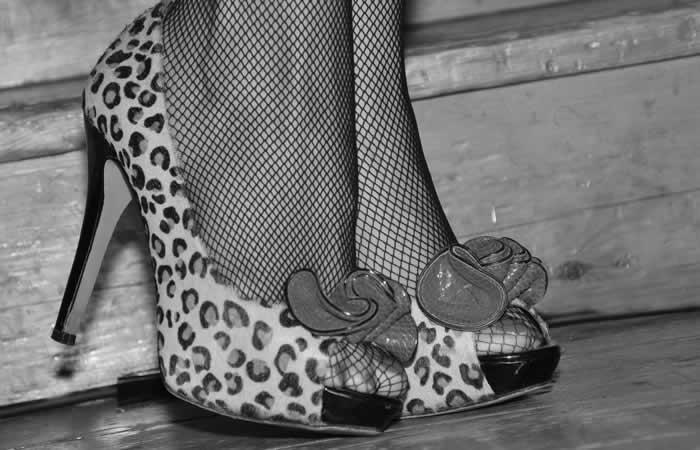 Marché rétro vintage FIBRES de Paris, chaussures